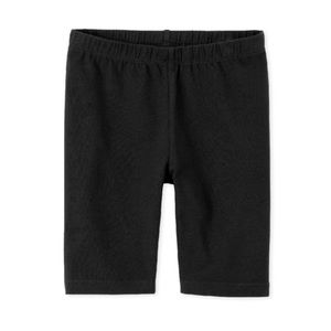 NWT Children's Place Black Capri Shorts S (5/6)